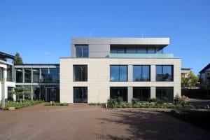 Bürogebäude Außenansicht