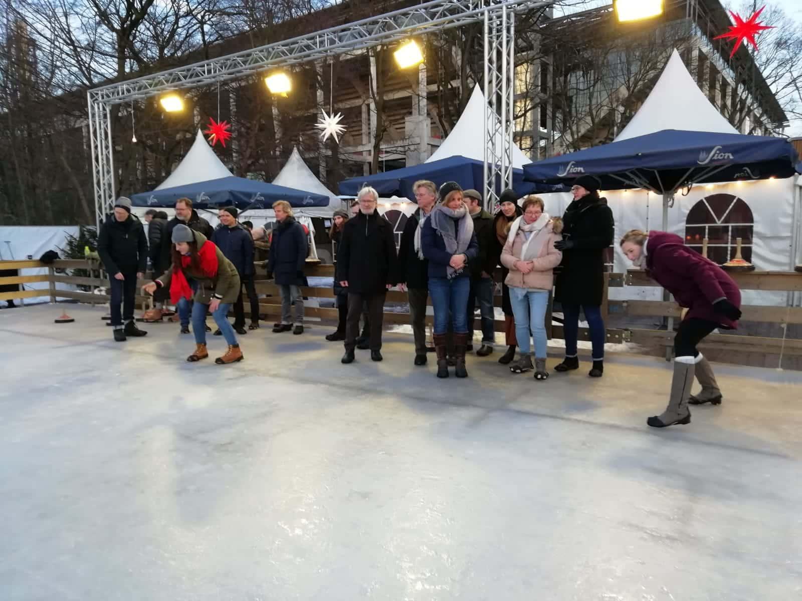 Eisstockschießen Köln