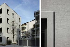 Außenansicht Wohnungen