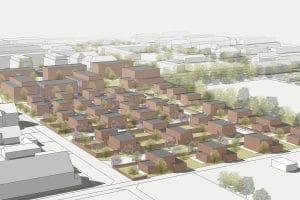 Vorzeichnungen Wohnungsbau