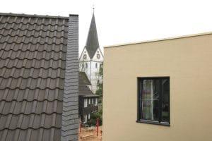 Kindergarten Aussicht auf Kirche