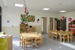 Kindergarten Tische und Stühle für Kinder