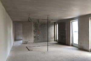 Neubau Haus innen