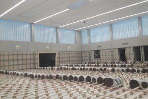 Neubau Sporthalle innen