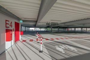 Parkhaus Klinikum Innen