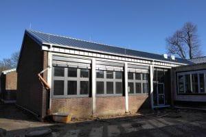 Gymnasium Ausbau von außen